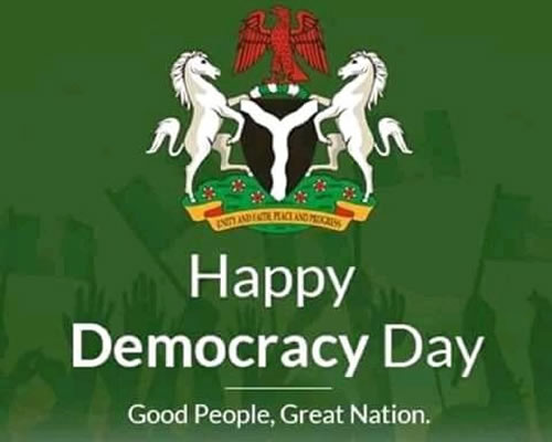 You are currently viewing CELEBRATING NIGERIAN DEMOCRACY DAY 2014