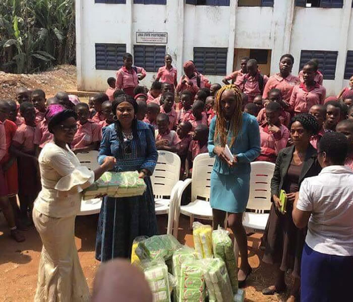 You are currently viewing Cllr Celia Hibbert visit to Girl only school in Umuahia, Abia State, Nigeria