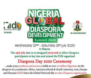 Read more about the article Nigeria Global Diaspora Development Summit 2020