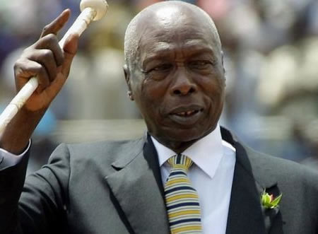 You are currently viewing Kenya's former President Daniel arap Moi has died at the age of 95