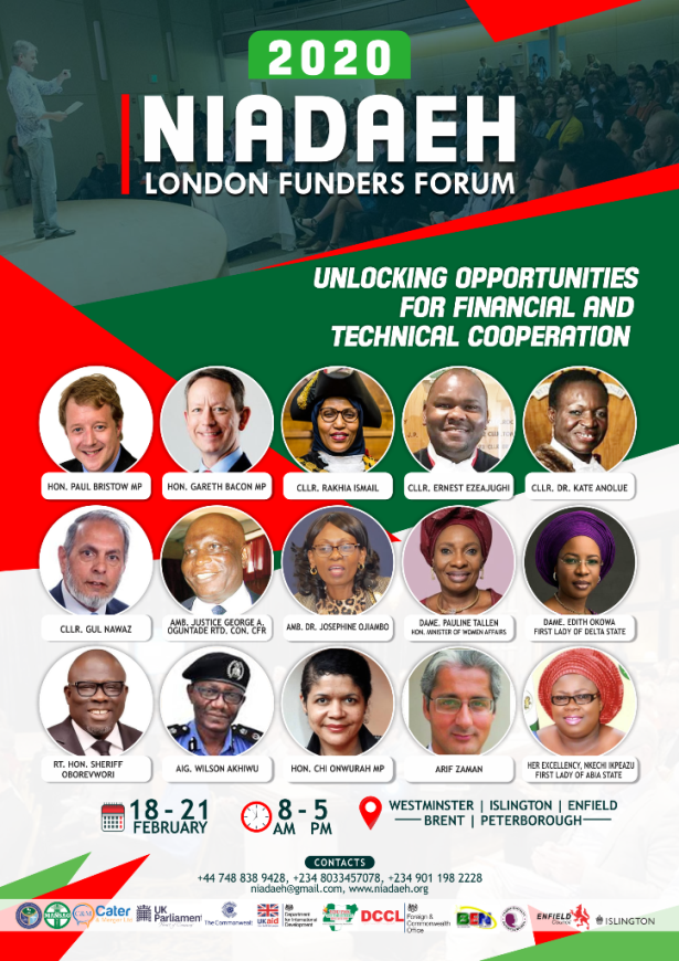 You are currently viewing 2020 NIADAEH LONDON FUNDERS FORUM