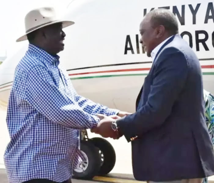 You are currently viewing President Kenyatta, Raila's Global US Meeting Explains Why DP Ruto Have to Embrace Handshake Whether He Likes or Not