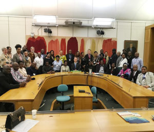 Read more about the article Photograph of Some Delegates Received by Hon. Gareth Bacon MP and Amb. Justice George A. Oguntade Rtd to the NIADAEH LONDON FUNDERS FORUM 2020