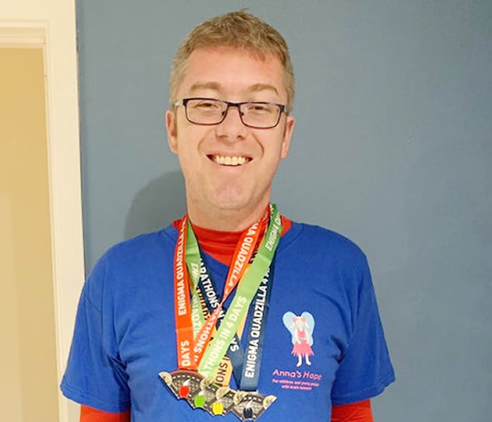 You are currently viewing Peterborough councillor runs four marathons in four days to raise money for local children's charity