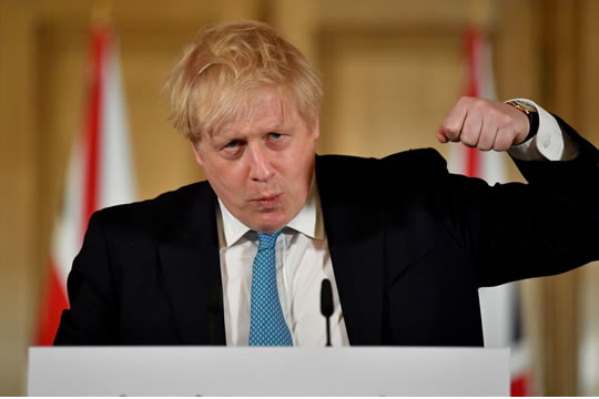 You are currently viewing Coronavirus: UK 'can turn the tide' in the next 12 weeks, Boris Johnson says