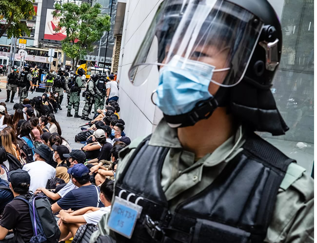 You are currently viewing Hong Kong's security law