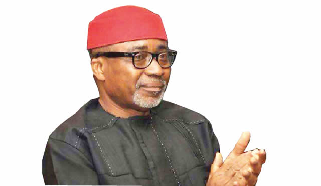 """You are currently viewing 2023: Igbo Presidency not negotiable — Abaribe ; Defection from PDP to APC Heightens Agitation for Igbo presidency.  """"My defection to APC was in obedience to God's will…""""Gov.David Umahi"""