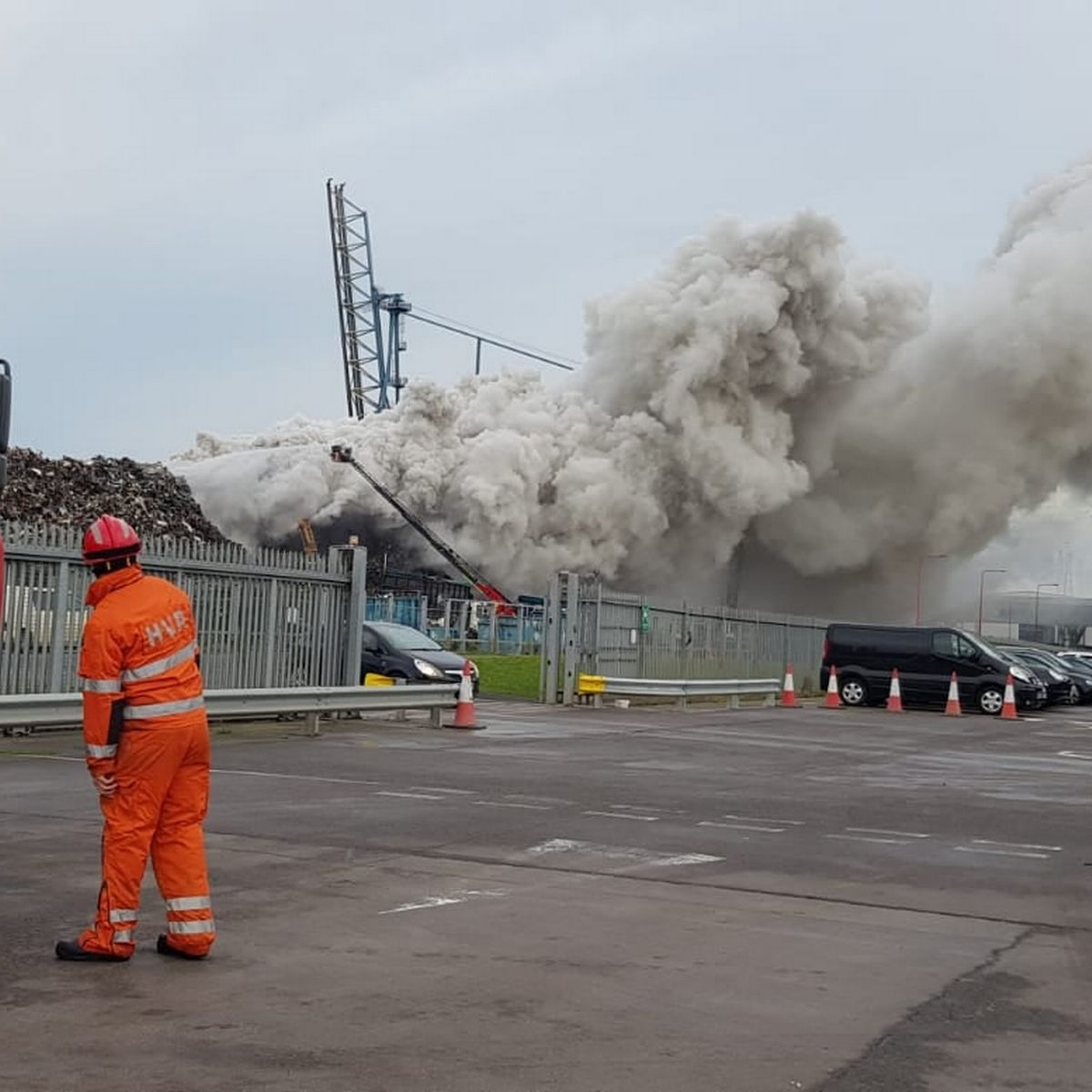 """You are currently viewing Four people killed and another injured in a """"large explosion"""" at a waste water treatment works in Avonmouth."""