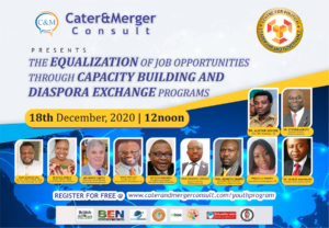 Read more about the article The Equalization Of  Job Opportunities through Capacity Building and Diaspora Exchange Programs 2020