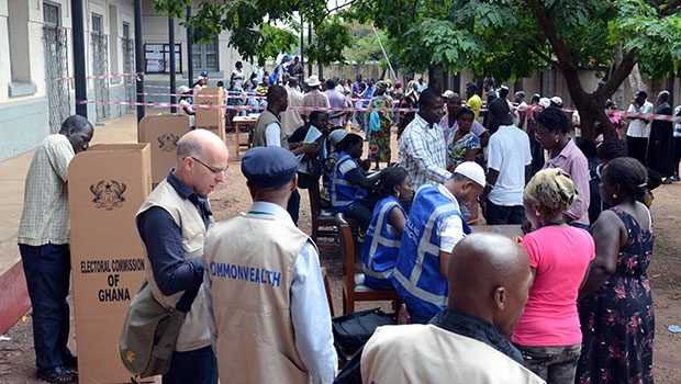 You are currently viewing Work Begins by  Commonwealth Observers as Ghana goes to the polls