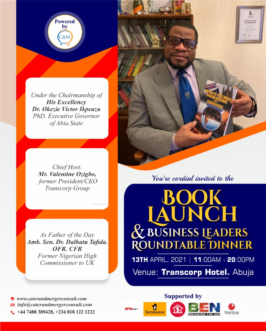 You are currently viewing BOOK LAUNCH AND BUSINESS LEADERS ROUND TABLE DINNER