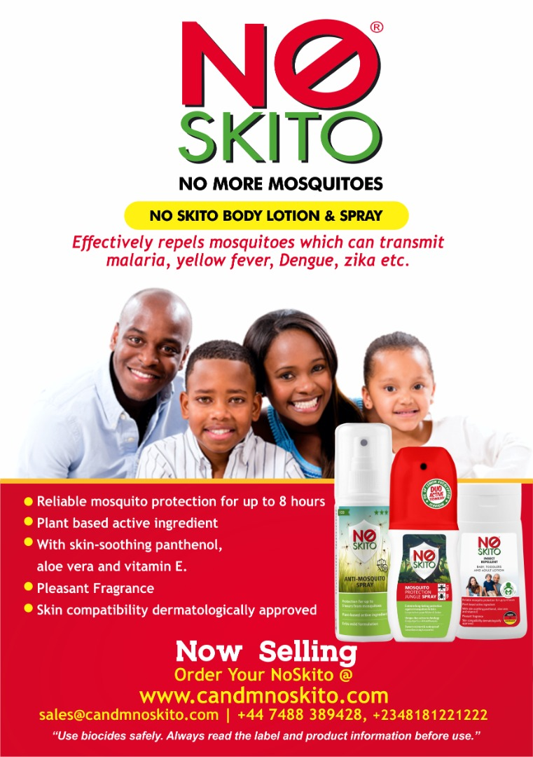 You are currently viewing NOSKITO! Your 100% Effective Mosquito Repellent