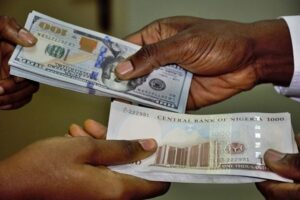 Read more about the article The Nigerian currency falls further at official market