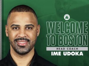 Read more about the article BREAKING: Nigerian born Ime Udoka takes over as 18th head coach in Boston Celtics