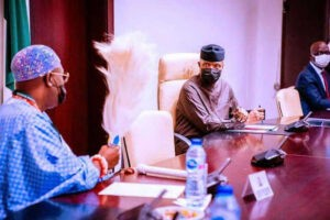 Read more about the article Insurgency: Vice President Osinbajo reveals FG's plan to tame bandits, kidnappers