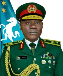 Read more about the article Major-General Farouk Yahaya Confirmed by Senate as the New Chief of Army Staff