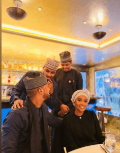Read more about the article How Buhari's Children Stormed London For Hanan's Graduation