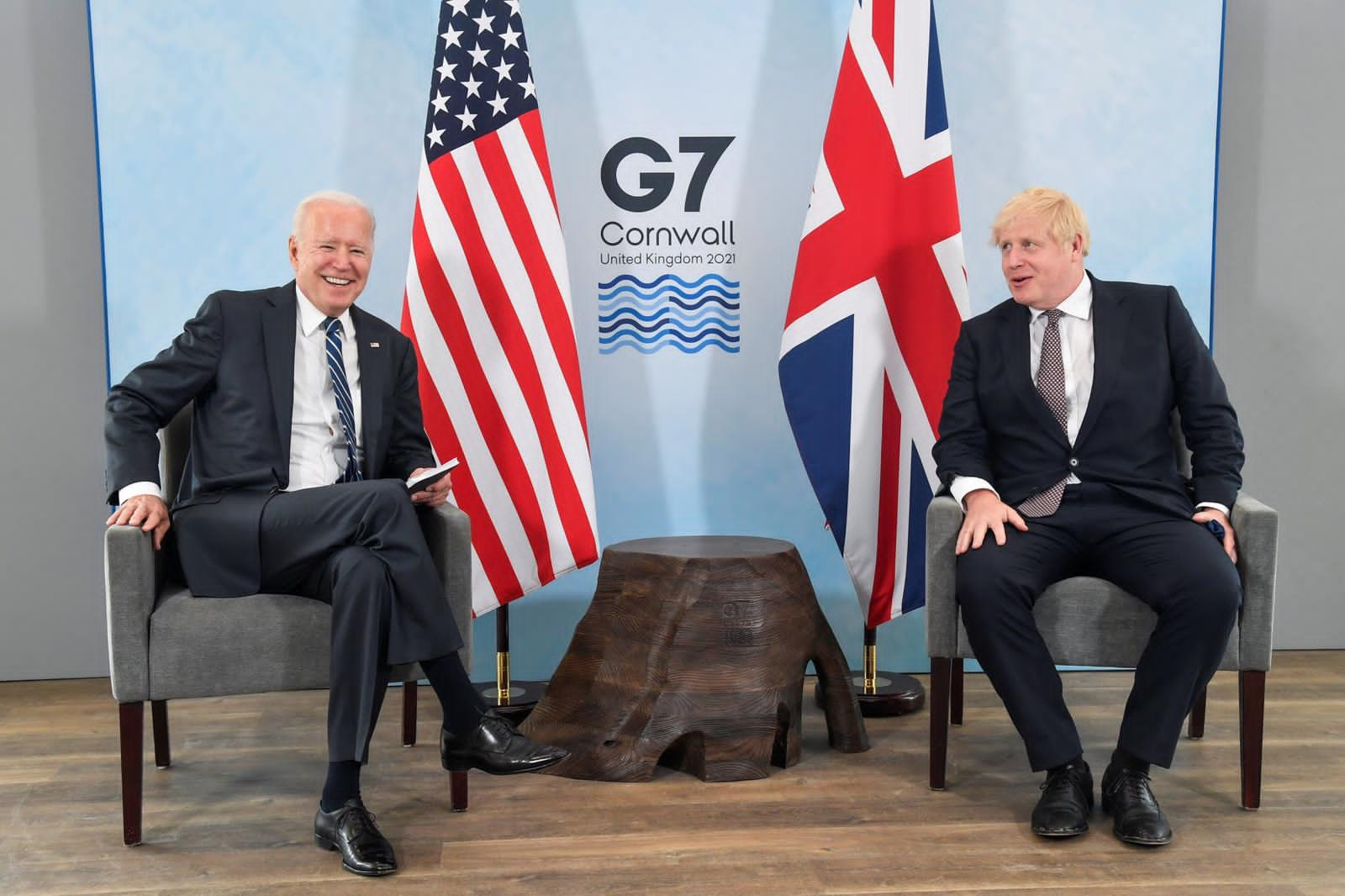You are currently viewing Prime Minister,Boris Johnson meets with President Joe Biden