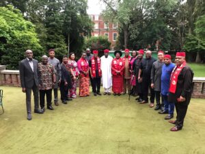 Read more about the article Leaders Of Ndigbo Community UK Meet and Greet with With The New Nigeria High Commissioner  Amb. Sharaft Isola