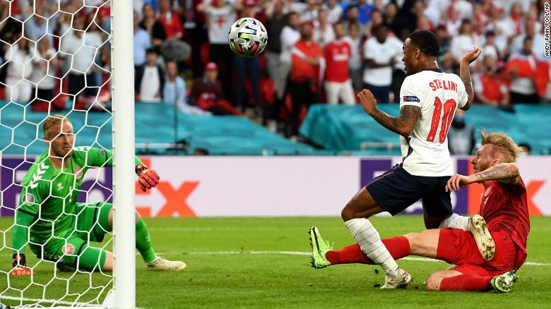 You are currently viewing Euro 2020: England reaches first major final since 1966 after tense Euro 2020 victory over Denmark