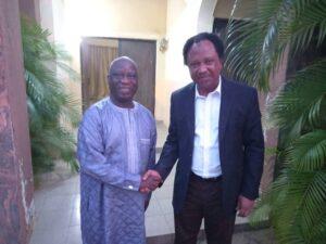 Read more about the article Senator Shehu Sani Visited Kaduna PDP Chairman For Final Decamping
