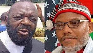 Read more about the article No Nigerian Court of Law Can Try Nnamdi Kanu —Barrister Ejimakor