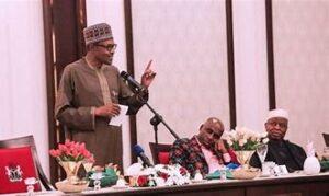 Read more about the article Insecurity: Buhari invites all 109 Senators to Aso villa for dinner