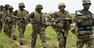 You are currently viewing Troops of 195 Battalion intercept supplies in Borno, Capture 2 terrorists