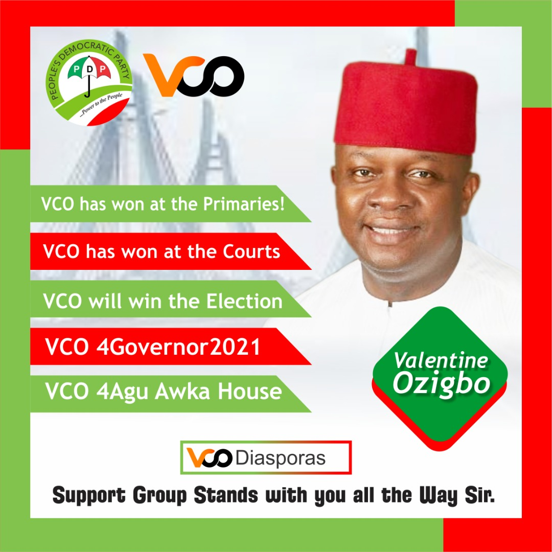 You are currently viewing Anambra 2021: Valentine Ozigbo Wins as Appeal Court Declares Him Authentic PDP's Anambra Guber candidate 2021
