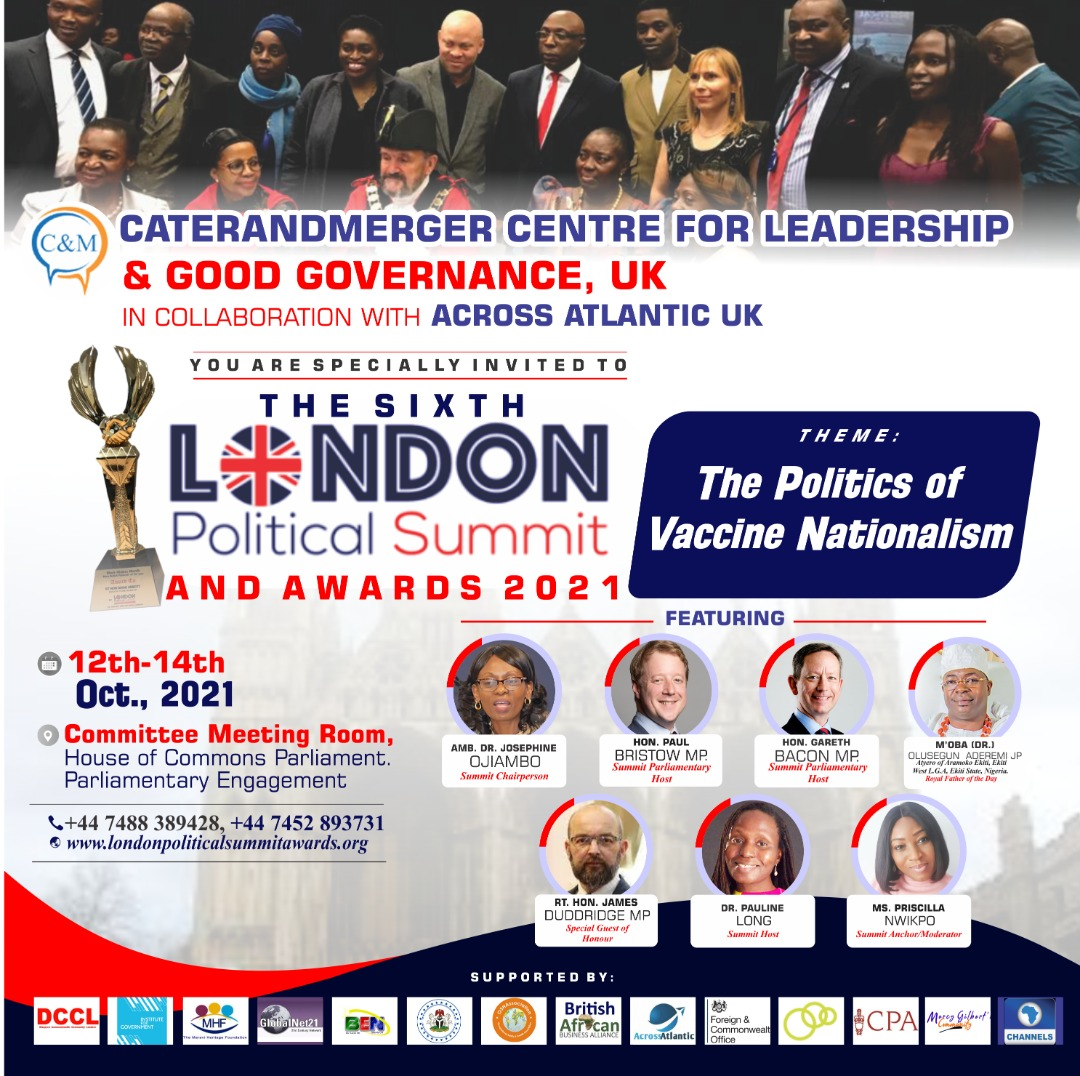 You are currently viewing The Sixth Annual London Political Summit and Awards 2021