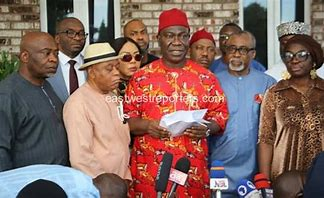 You are currently viewing South East Caucus Of The National Assembly Holds Extraordinary Meeting; Deliberates on sit-at-home orders and the Detention of Mazi Nnamdi Kanu.