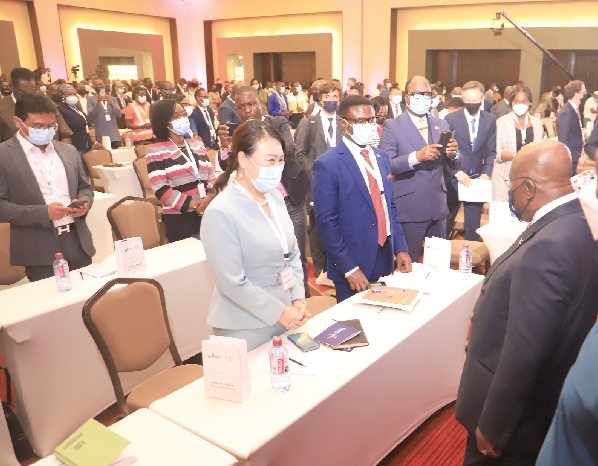 You are currently viewing (Ghana)Spark Up Summit: We're working towards a 5% growth rate – President assures
