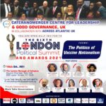 PRESS RELEASE STATEMENT BY THE SIXTH LONDON POLITICAL SUMMIT AND AWARDS 2021